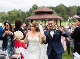 The wedding of Juris and Mike