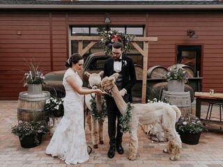 The wedding of Calandra and Gavin