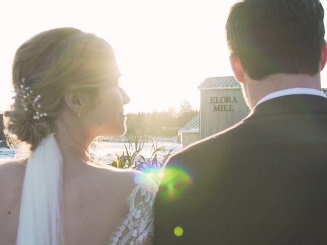 Kyrie and Elias's wedding in Elora, Ontario 2