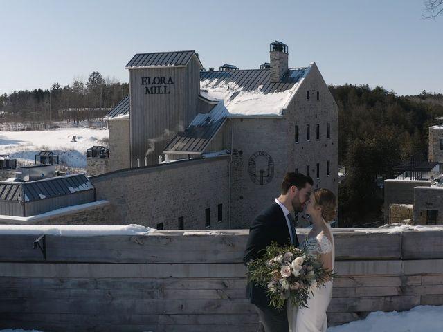 Kyrie and Elias's wedding in Elora, Ontario 5