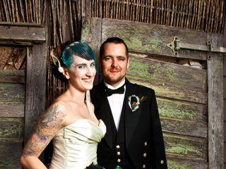 The wedding of Nici and Aaron