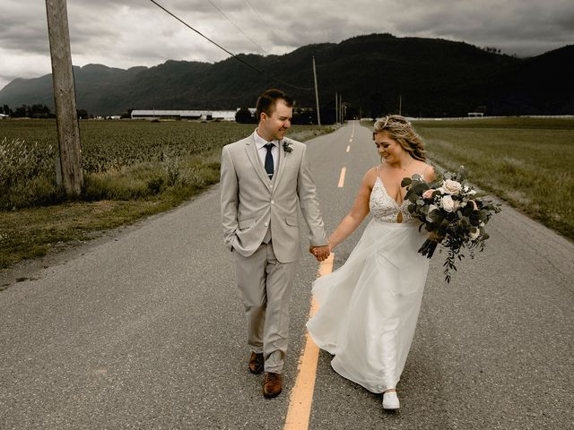 Jess and Brent's wedding in Abbotsford, British Columbia 77