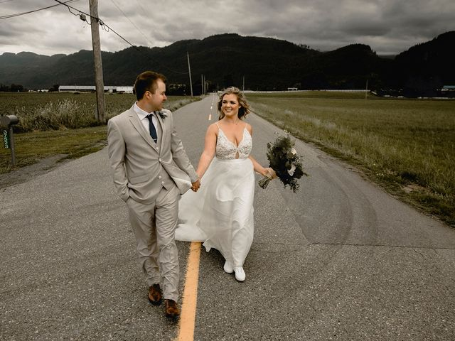 Jess and Brent's wedding in Abbotsford, British Columbia 78