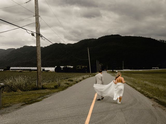 Jess and Brent's wedding in Abbotsford, British Columbia 80