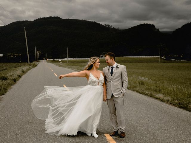Jess and Brent's wedding in Abbotsford, British Columbia 81