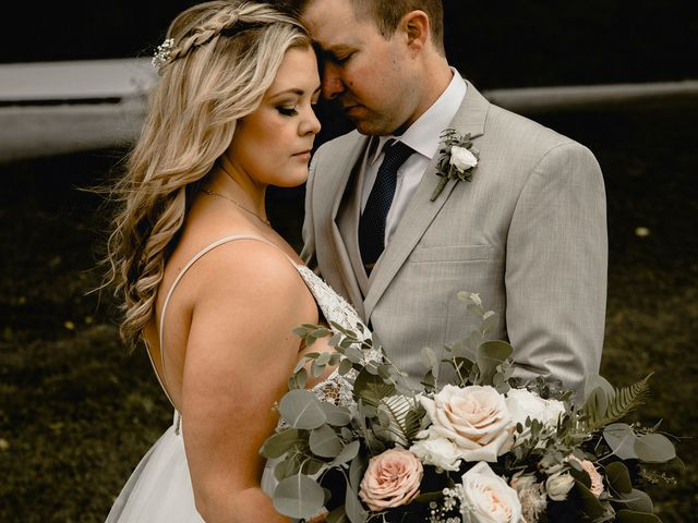 Jess and Brent's wedding in Abbotsford, British Columbia 1
