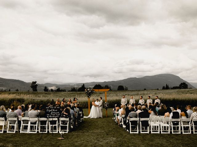 Jess and Brent's wedding in Abbotsford, British Columbia 2
