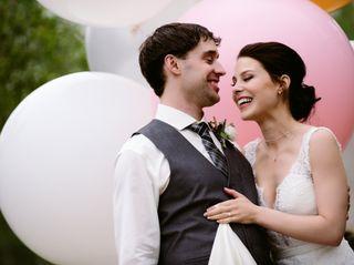 The wedding of Christina and Rob