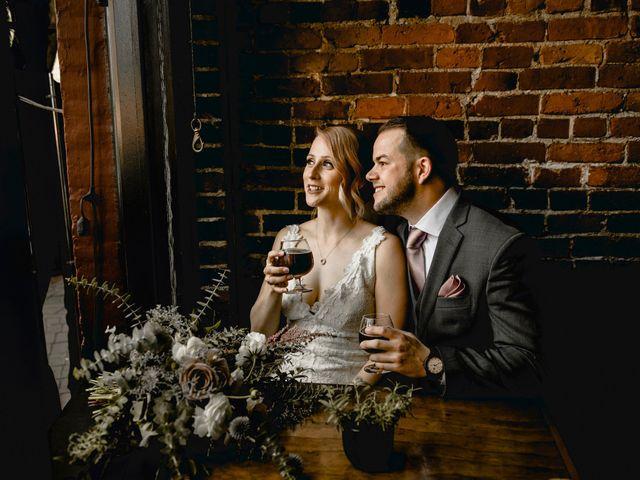 The wedding of Anthony and Kaila