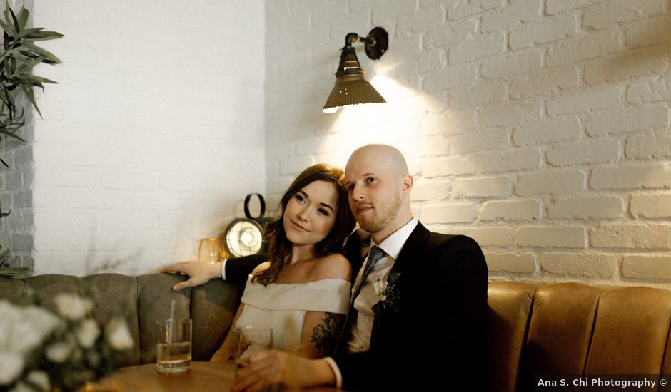 Cole and Devon's wedding in Vancouver, British Columbia