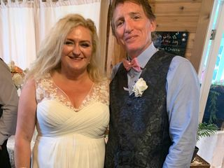 The wedding of Catherine and Keith 3
