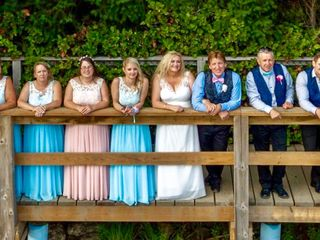 The wedding of Catherine and Keith