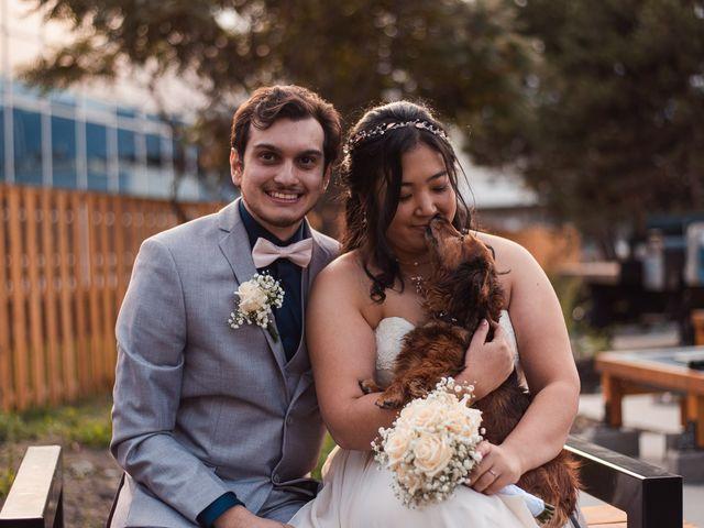 Robert and Mina's wedding in Kelowna, British Columbia 1