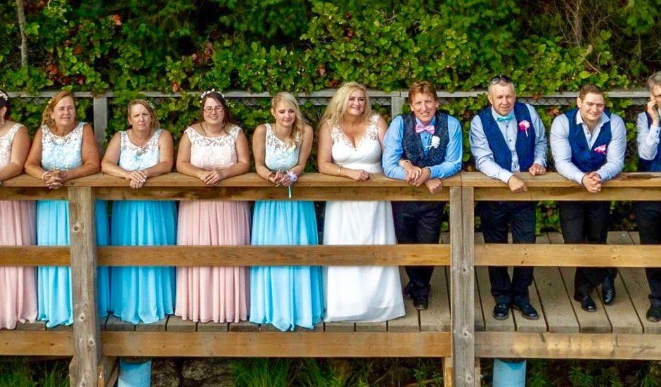 Keith and Catherine's wedding in Nanaimo, British Columbia