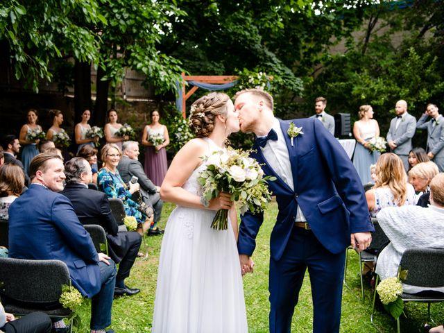 The wedding of Taryn and Sean