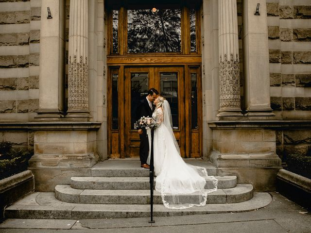 Emma and Andrew's wedding in Vancouver, British Columbia 1