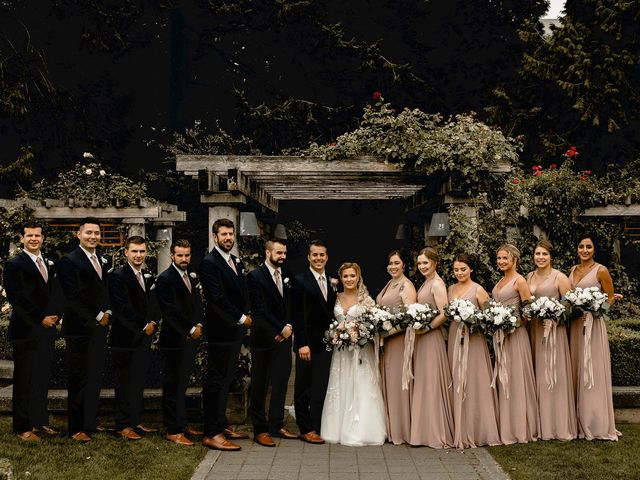 Emma and Andrew's wedding in Vancouver, British Columbia 98