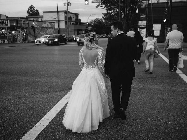Emma and Andrew's wedding in Vancouver, British Columbia 160