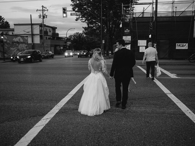 Emma and Andrew's wedding in Vancouver, British Columbia 161