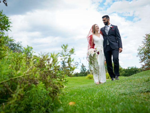 Pupinder and Shelby's wedding in Stittsville, Ontario 25
