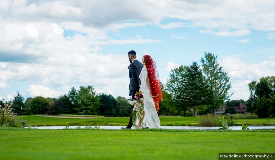 Pupinder and Shelby's wedding in Stittsville, Ontario