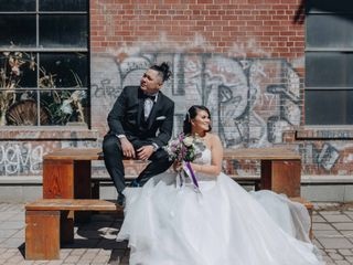 The wedding of Anna Carma and Mikel