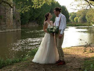 The wedding of Trevor and Keshia
