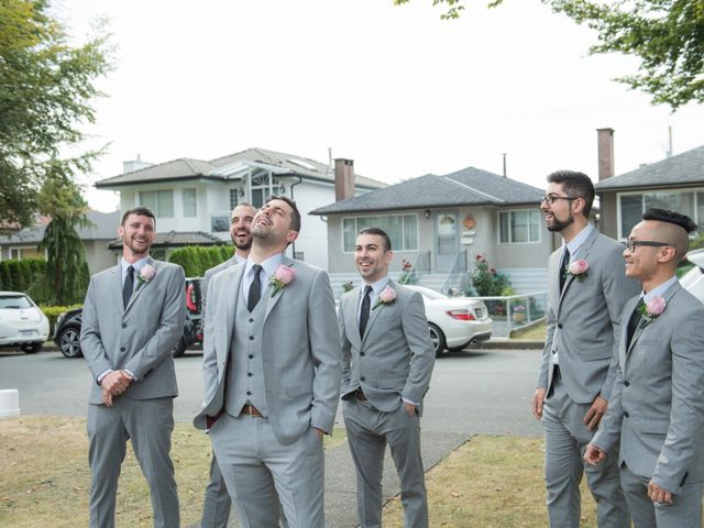 Gregory and Fion's wedding in Coquitlam, British Columbia 12