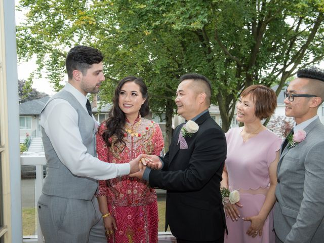 Gregory and Fion's wedding in Coquitlam, British Columbia 32