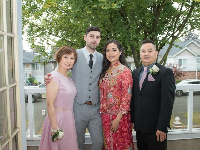 Gregory and Fion's wedding in Coquitlam, British Columbia 33