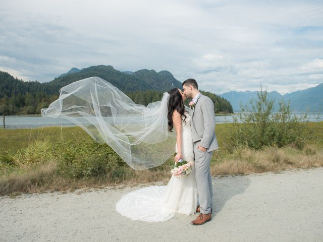 Gregory and Fion's wedding in Coquitlam, British Columbia 1