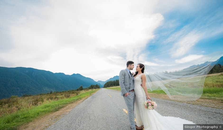 Gregory and Fion's wedding in Coquitlam, British Columbia