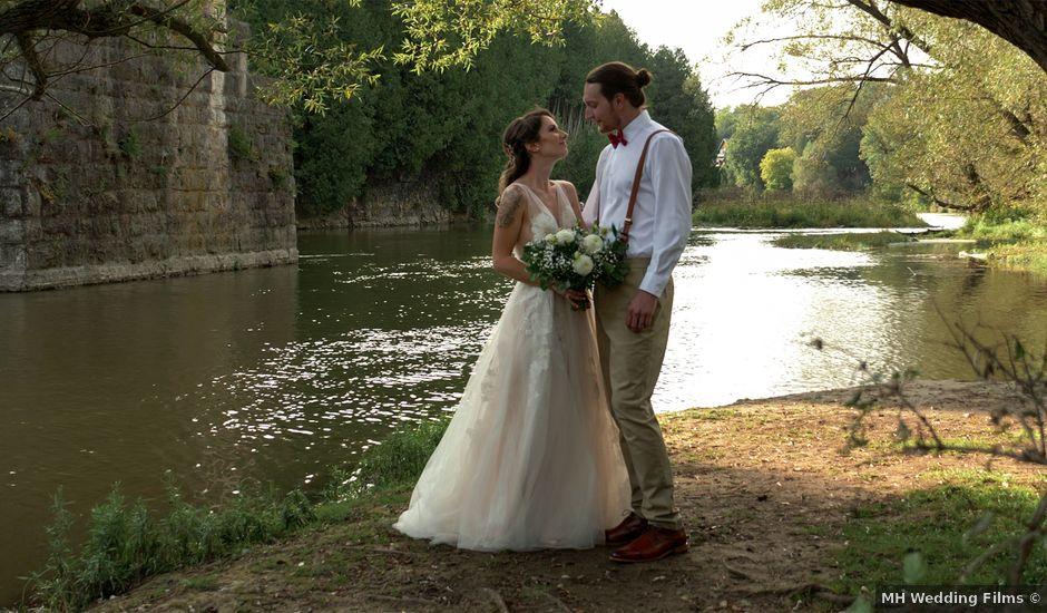 Keshia and Trevor's wedding in Elora, Ontario
