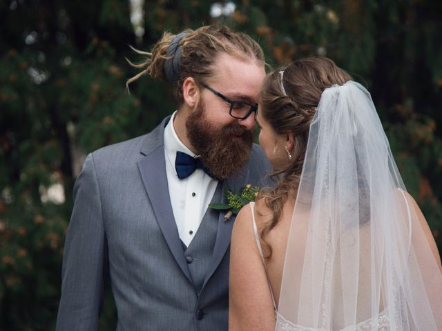 The wedding of Avery and Josh