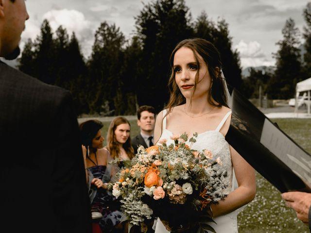 Fernanda and Jonah's wedding in Agassiz, British Columbia 62