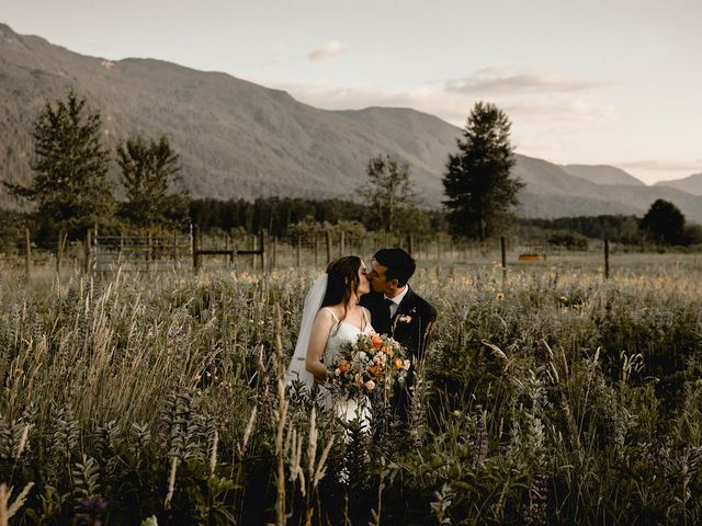 Fernanda and Jonah's wedding in Agassiz, British Columbia 98