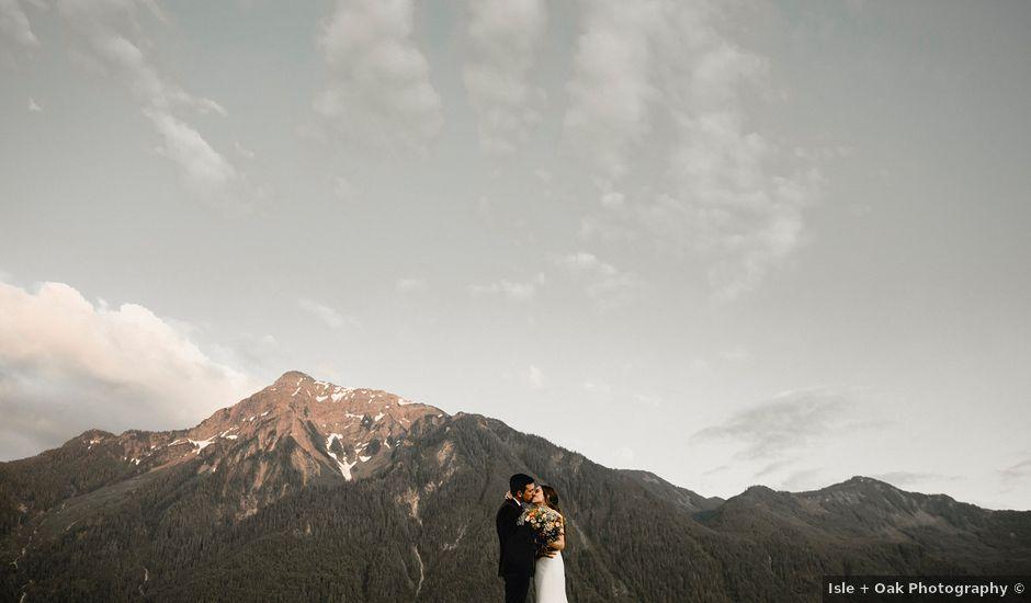Fernanda and Jonah's wedding in Agassiz, British Columbia