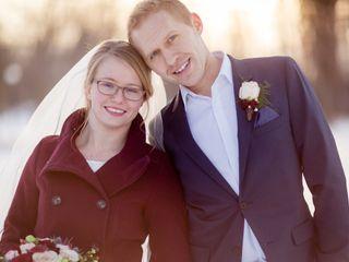 The wedding of Rebecca and Garett