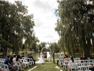 The wedding of Monica and Ken
