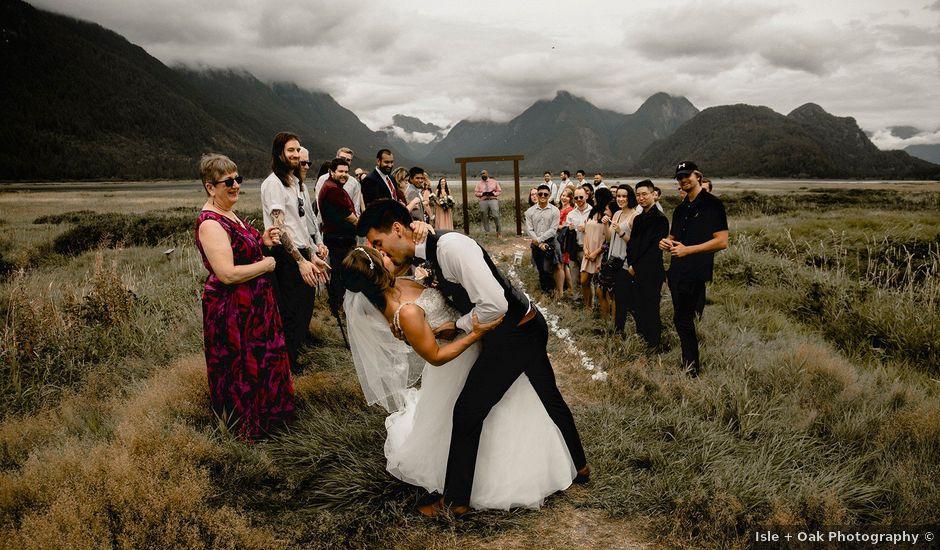 Kaylee and Felipe's wedding in Pitt Meadows, British Columbia