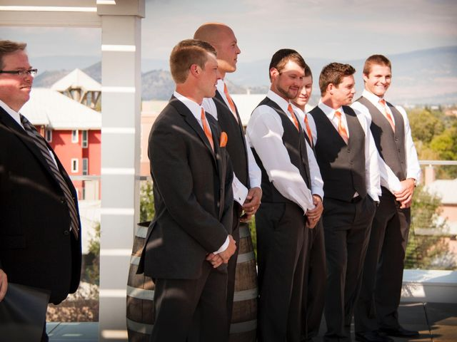 Shane and Michelle's wedding in Kelowna, British Columbia 4