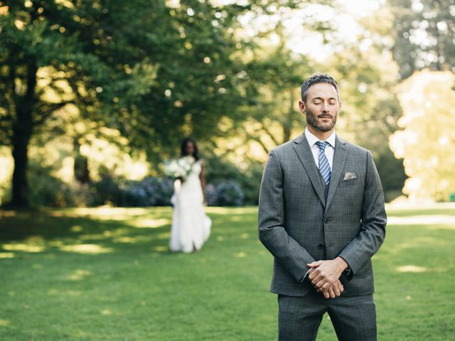Maurice and Yvonne's wedding in Vancouver, British Columbia 4