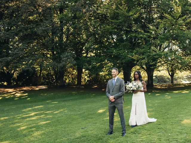 Maurice and Yvonne's wedding in Vancouver, British Columbia 5
