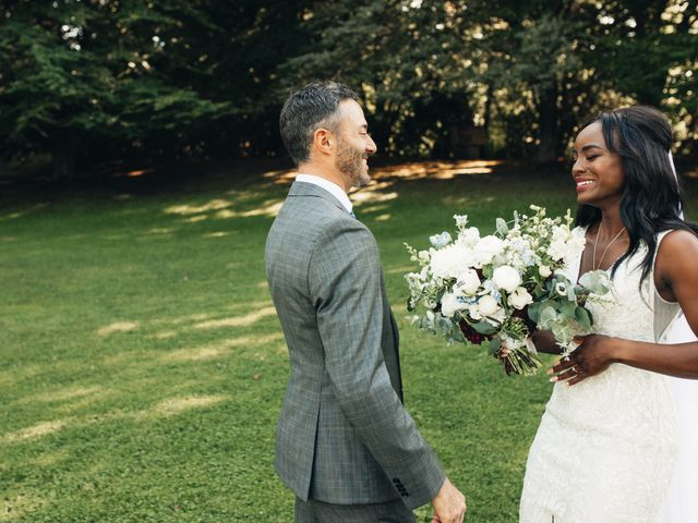 Maurice and Yvonne's wedding in Vancouver, British Columbia 6