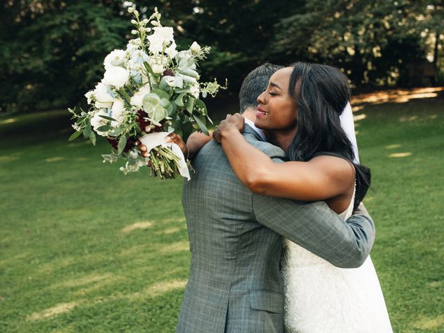 Maurice and Yvonne's wedding in Vancouver, British Columbia 7