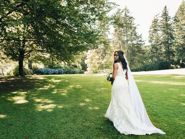 Maurice and Yvonne's wedding in Vancouver, British Columbia 8
