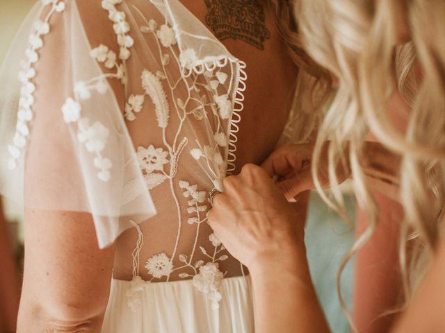 Desta and Dermot's wedding in Grafton, Ontario 7
