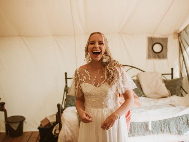 Desta and Dermot's wedding in Grafton, Ontario 8