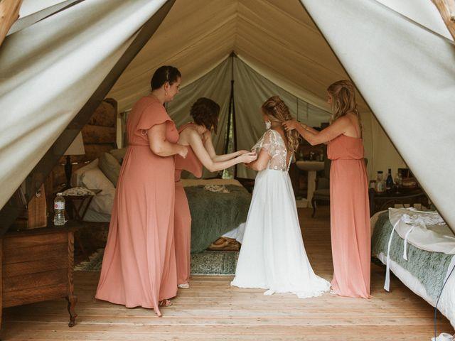 Desta and Dermot's wedding in Grafton, Ontario 9