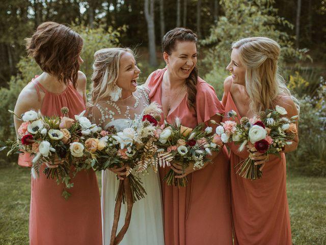 Desta and Dermot's wedding in Grafton, Ontario 11